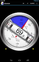 Screenshot of Clinometer  +  bubble level