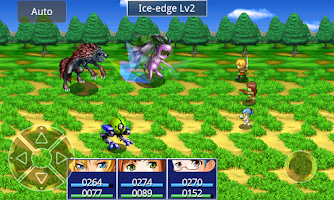 Screenshot of RPG Eve of the Genesis HD
