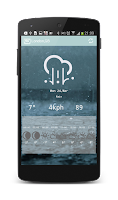 Screenshot of PixWeather Update