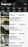 Screenshot of Dumpert