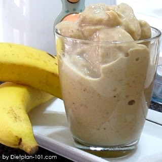 Banana Milk Coffee Smoothie (for Cabbage Soup Diet)