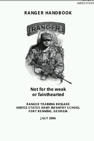 U.S. Army-Rangers Handbook