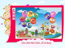 Screenshot of Be Vui Hoc-Chu So,Bang Chu Cai