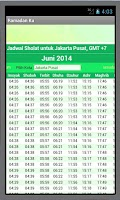 Screenshot of RAMADHAN KU:Puasa Ramadan 2014