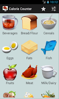Screenshot of Calorie Counter - Daily Intake