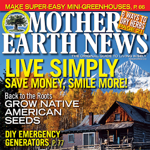 Cover art Mother Earth News