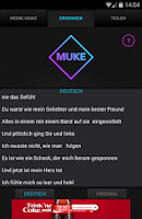 Screenshot of MUKE Musik erkennen (Gratis)