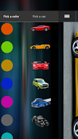 Screenshot of Paint cars