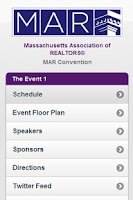 Screenshot of Mass. Assoc. of Realtors