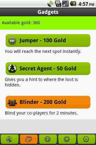 Tourality GPS Treasure Hunt - screenshot