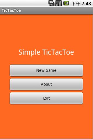 Simple TicTacToe