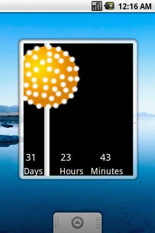 New Years Countdown '12 Widget