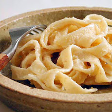Fettuccine with Cashew Cream