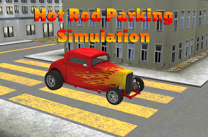 Screenshot of Hot Rod Parking simulation