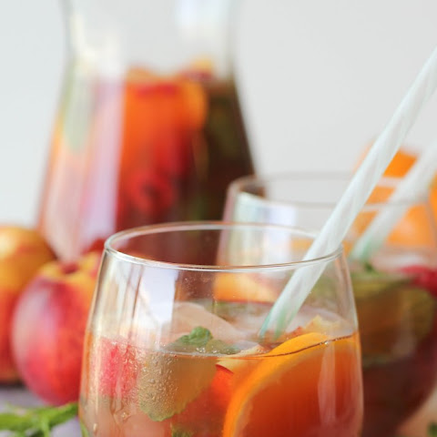 Raspberry Peach Iced Tea