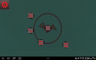 Screenshot of Crazy Virtual Dice 3D
