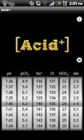 Screenshot of Acid Plus - The ABG Calculator