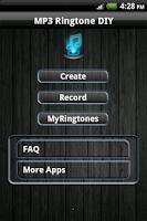 Screenshot of MP3 Ringtone DIY