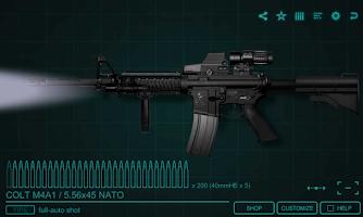 Screenshot of SimGun2 Custom - Gun Simulator