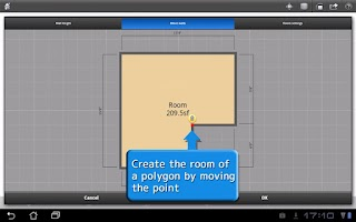 Screenshot of ROOM+ for Tablet [Floor plans]