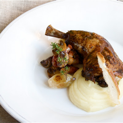 Coq-Au-Vin with Parsnip Cream