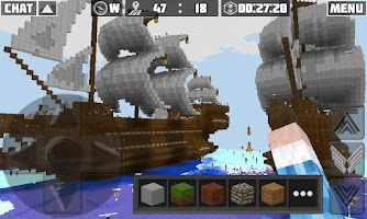 Screenshot of Planet of Cubes Online