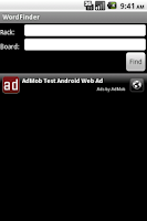 Screenshot of Word Finder