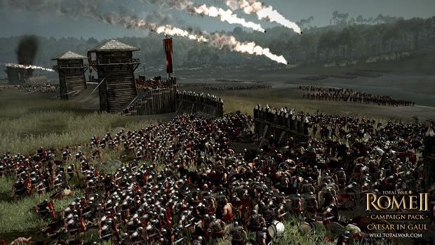 Caesar In Gaul DLC announced for Total War: Rome II