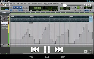 Screenshot of Pro Tools 10 - What's New