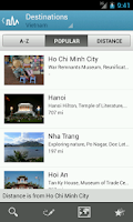Screenshot of Vietnam Travel Guide