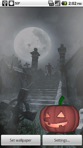Halloween Live Wallpaper 3D