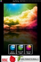 Screenshot of Crystal Colorful Wallpapers