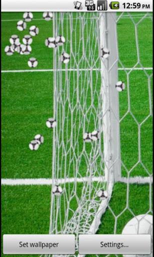 REAL Football Live Wallpaper