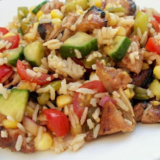 Oriental Chicken Summer Salad