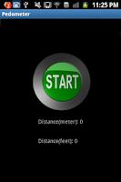 Screenshot of Pedometer Or Odometer