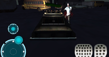 Screenshot of Zombie car parking 3D Outbreak