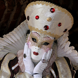 Venice Mask by Dominic Jacob - News & Events World Events ( venezia, carnavale, carnival, carnaval, venice, mask, venise, masque, venetian )
