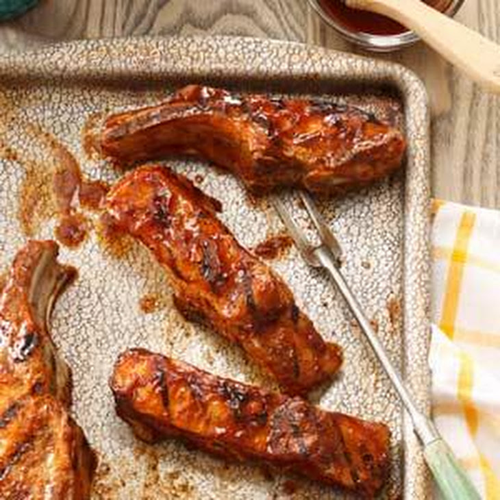 Country-Style Grilled Ribs Recipe | Yummly