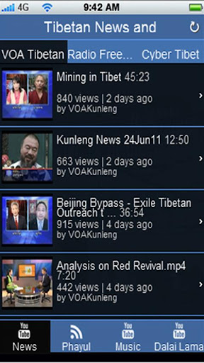 Tibetan News Music