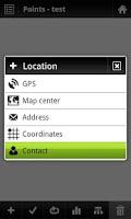 Screenshot of Locus - addon Contacts