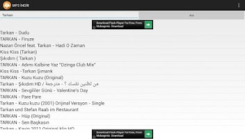 Screenshot of MP3 İNDİR