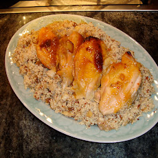 Baked Chicken in Sherried Citrus Juices
