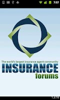 Screenshot of Insurance Forums