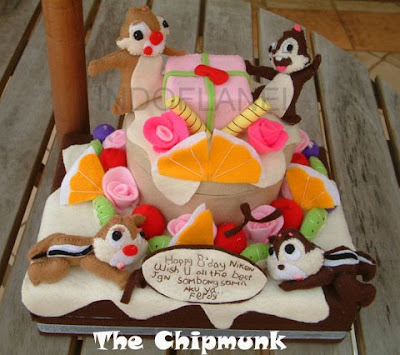 The Chipmunk Cake