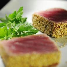 Sesame-Crusted Ahi Tuna