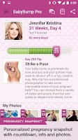Screenshot of BabyBump Pregnancy Pro