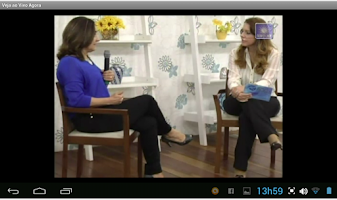 Screenshot of Web TV Espírita Nova Luz