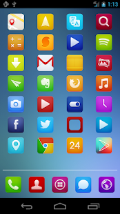 Bright Base Icon Pack - screenshot