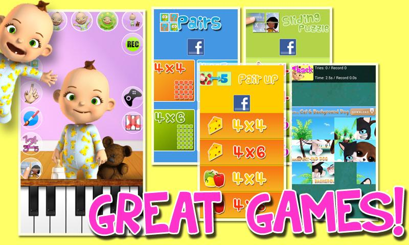 Talking Babsy Baby Deluxe Screenshot 2