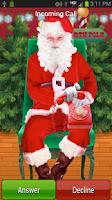 Screenshot of Santa Phone Call